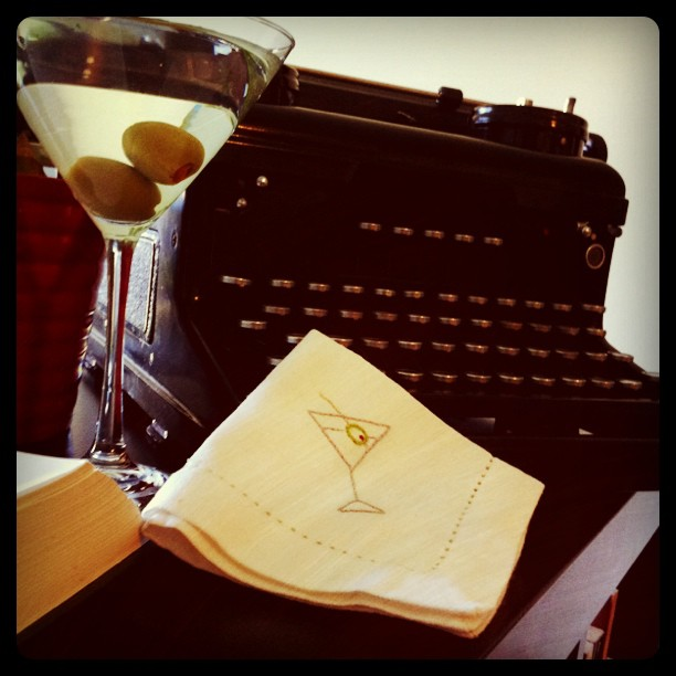 Cocktail Napkin #2: Martini!